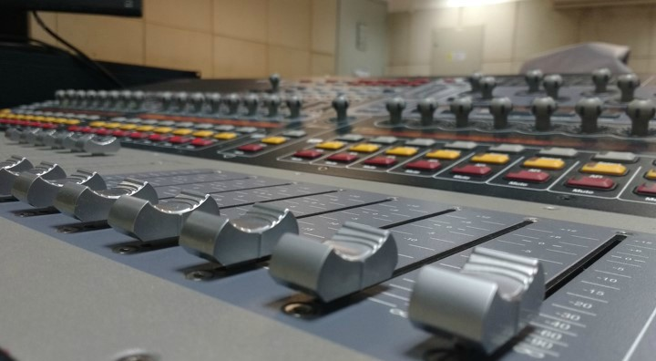 Curso operador de áudio