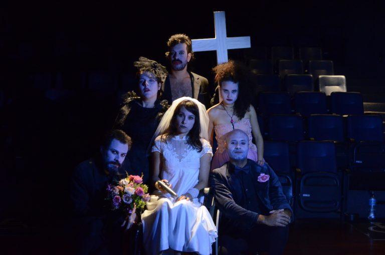 Os Analfabetos teatro Glaucio Gill