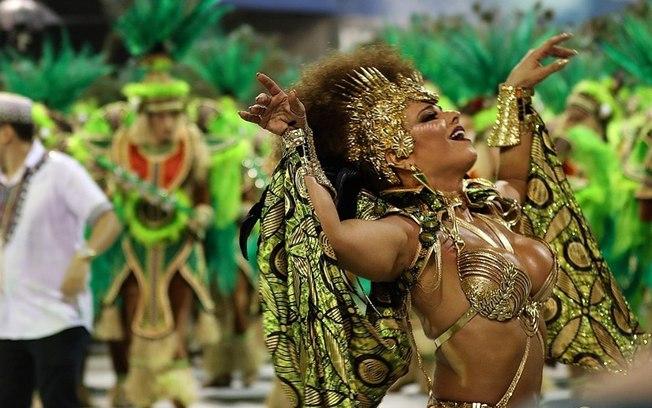 Viviane Araujo Carnaval RJ